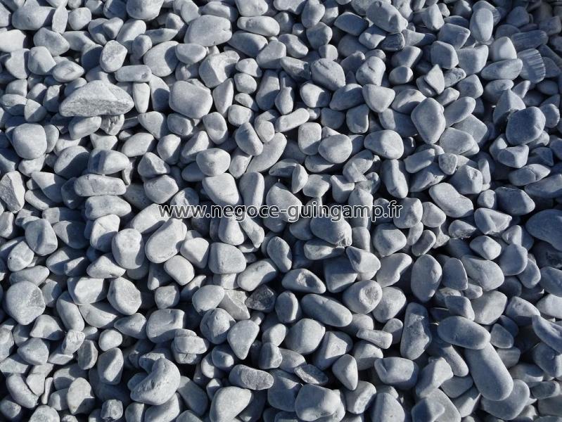 Galet marbre gris bleut en big bag ou en vrac vend e loire atlantique - Galets en vrac ...