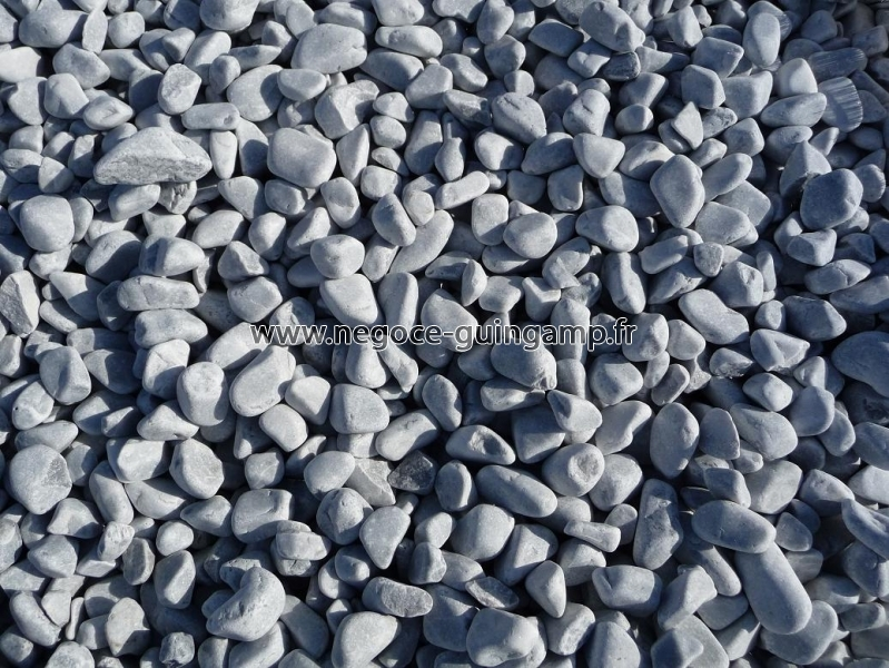 Galet marbre gris bleut en big bag ou en vrac vend e for Galet decoratif big bag